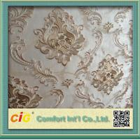 China Jacquard Embossed Home Modern Decorative Wallpaper for bedroom wholesale