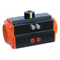 China Orange AT-75 Rack And Pinion Pneumatic Actuator With Double Acting NAMUR ISO 5211 wholesale