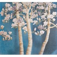 China Wall Panels Mural Bamboo Fiber Material For Study or Lobby Easy to Clean wholesale