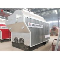 3 Ton Rice Husk Bagasse Fired Steam Boiler , Paddy Fired Large Stove Biomass Boiler