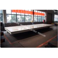 China Battery power rail flat car rail transport car 30ton load capacity 48V voltage DC large load table wholesale
