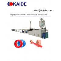 China High Speed Silicone Cross-linked PE-Xb Pipe Line on sale