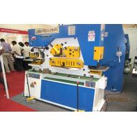 China Customized iron worker machine angel steel rod cutting & punching lathe wholesale