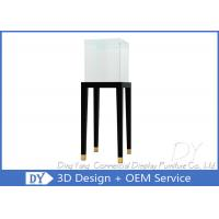 China Jewelry Pedestal Display Cases / Free Standing Jewelry Display Case wholesale