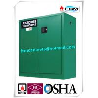 Quality Safety Hazardous Storage Cabinets , Hazmat Storage Locker For Agriculture Pesticide for sale