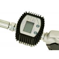 China Digital Flow Meter Oil Control Valve Dispenses In Liter , Gallon , Pint And Quart wholesale
