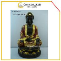 Buy cheap Resin Sitting Decorative Buddha Statue from wholesalers