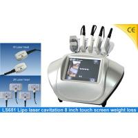China 650nm Lipo Laser Slimming Machine With 8inch Touch Screen , Fat Reduction Laser Lipo LS651 wholesale