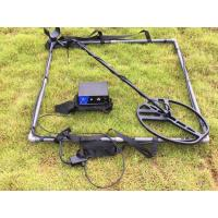 China Deep distance Long range pulse induction 2 coil frame gold metal detector wholesale
