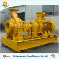 China Centrifugal Horizontal Single Stage End Suction Sea Water Pump on sale