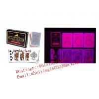 Buy cheap Modiano Platinum red plastic marked cards for casino cheat/poker trick/invisible ink/contact lenses/omaha texas cheat from wholesalers