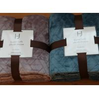 Quality Soft Smooth Flannel Throw Blanket 100% Polyester Warm Non Fading Lightweight for sale