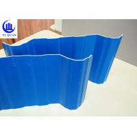 China Light Weight PVC Roof Tiles Shining Color for Commercial Parking Lots on sale