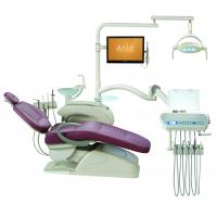 China Low Mounted Dental Chair Equipment / Computer Control Dental Lab Chairs on sale
