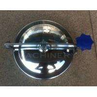 Quality Good Quality Sanitary Stainless Steel Manhole Cover SS316L Sanitary Manhole Cover for sale