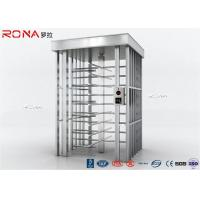 China Auto Security Full Height Turnstile Pedestrian System 30 Persons / Minute Speed wholesale