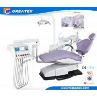 China Top Mounted Dental Chair Unit With Floor Cabinet LCD Display On Instrument tray on sale