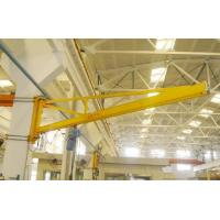 China 180 Degree Wall Mounted Workshop Jib Crane with Radio Controlled Pendent Control wholesale