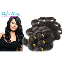 China Deep Curly 24 Inch / 28 Inch Mongolian Hair Extensions Natural Black For Ladies wholesale