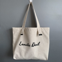 China ODM Reusable Tote Canvas Bags With Zipper Closure wholesale