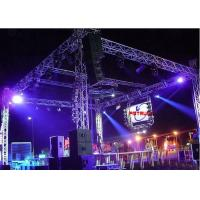 China Aluminum Alloy Stage Lighting Stands And Trusses Flame Retardant 2 Years Warranty wholesale