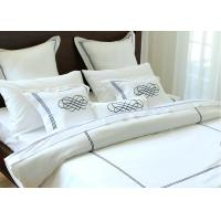 China Elegant Embroidered Modern Bedding Sets Twin / Queen / King Size 100% Cotton wholesale