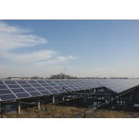 China Customized Solar Panel Mounting Structure , Ground Mount Solar Racking Systems on sale