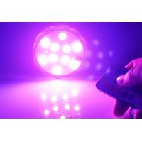 Quality Waterproof Remote Control Multi Color Submersible LED light  4PCS As One Set for sale