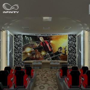 China 8 9 12 Seats 5D 7D Virtual Reality Cinema Hydraulic Theater Equipment wholesale
