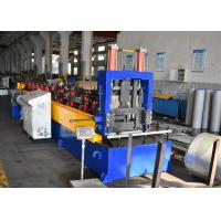 China Quick-change CZ Purlin Roll Forming Machine, Easy Adjustable Post Cutting wholesale