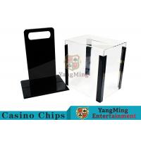 Quality Portable Poker Chip Holder With Tray For 1000 Pcs 40mm Casino Poker Chips for sale
