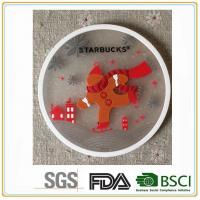 China High quality with low price100% pvc and rubber silicone drink coaster home furnishings wholesale