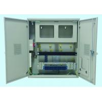 China Broadband Access Fiber Optic Termination Box Embed Mounted 1U/2U Space wholesale