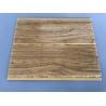 China Kitchen Two Golden Line Ceiling PVC Panels Wooden Color Moisture - Proof wholesale