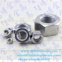 Quality High quality lowest price hex nut m3 to m64 din934 for sale