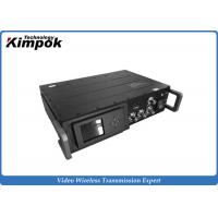 China Mobile Vehicle HD Wireless Video Transmitter 40W Long Range Video Data Security Transmission System wholesale