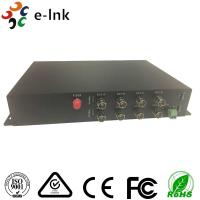 China 1 Channel RS485 Reverse Data 20km Single Mode 8 Channel SDI to Fiber Optic Converter wholesale