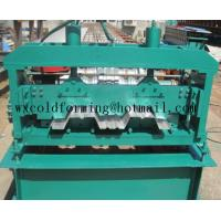 China Automated PLC Control  High Precision Steel Structure Floor Deck Roll Forming Machine For Metal Decking Sheet wholesale