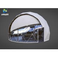 China High Technology Immersive Full Dome Cinema 4D Cinema Dome Projection With 14 Cinema Chairs wholesale