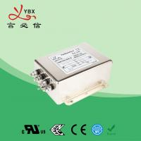 China Electric Passive 3 Phase Power Line Filter 440V 480V 50A Metal Case wholesale