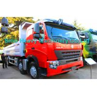 Buy cheap 8x4 Heavy Duty Dump Truck for Unloading, EURO II and EURO III emission standard product