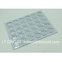 China Round LED High Thermal Conductivity PCB Aluminum Based Single Layer wholesale