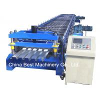 China 688 Floor Deck Roll Forming Machine Floor Tile Material Making Machine wholesale