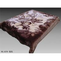 China Sell polyester mink blanket on sale