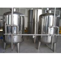 China Automatic Mineral Water Treatment Machine with Hollow Fiber Super Filter 1T - 30 Ton wholesale