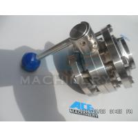 China Stainless Steel Manual Threaded Butterfly Valve (ACE-DF-2C) wholesale