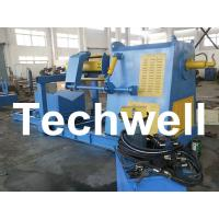 China Active Uncoiling / 10 Ton Hydraulic Decoiler Curving Machine With Coil Car TW-DECOILER wholesale