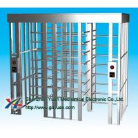 Quality Access Control CE Full Height Turnstile 304 Stainless With LED Direction for sale