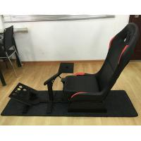 China Adjustable Folding Racing Simulator Seat With Support of Steering Wheel+Pedal+Sh 1012B wholesale