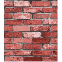 China 3D Popular Brick Pattern Classic Style Vinyl Removable Wallpaper wholesale
